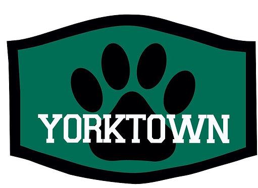 Yorktown Tigers School Theme Face Mask