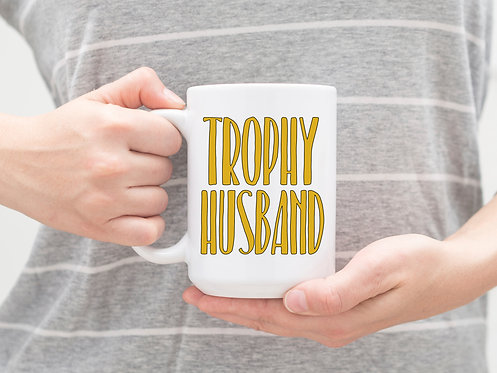 trophy husband cup