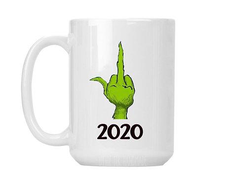 2020 middle finger grinch