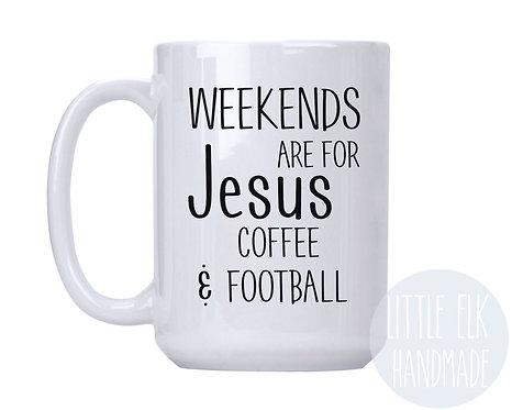 Jesus coffee football