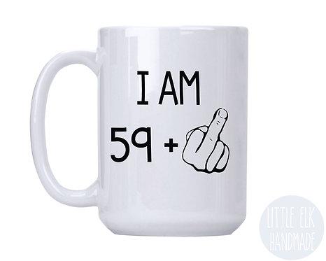 turning 60 coffee mug birthday