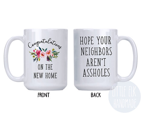 housewarming gift coffee mug