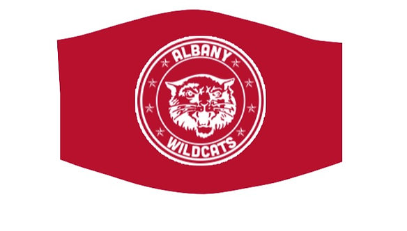 Albany Wildcats School Facemask