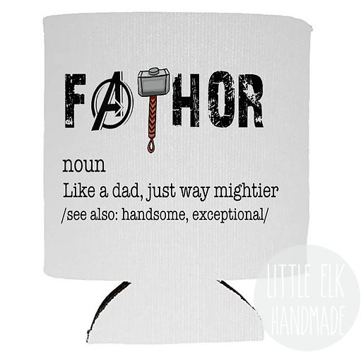 Father Definition Like A Dad Just Way Mightier - White Beer Can Co