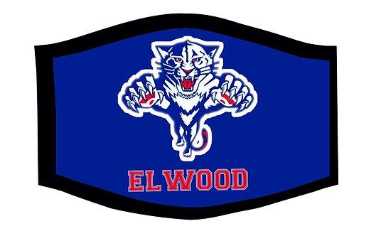 Elwood Panthers Face Mask