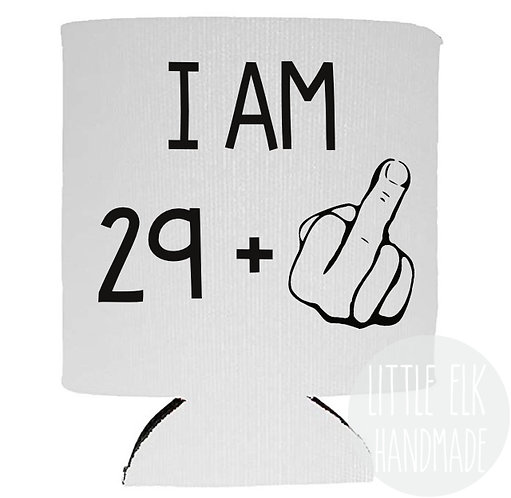 29 plus middle finger