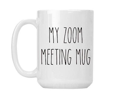 My Zoom Meeting Mug