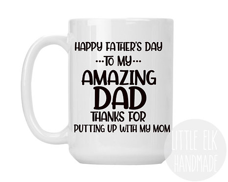 funny Father's Day mugs