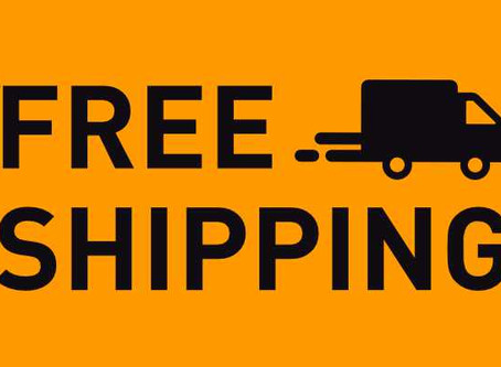 We now offer FREE SHIPPING on all U.S. Orders!