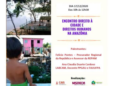 Encontro Direito À Cidade e Direitos Humanos na Amazônia