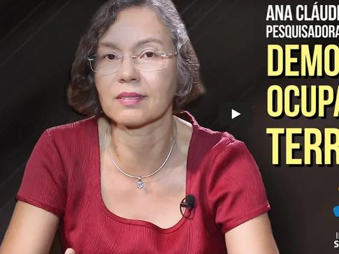 Instituo Saber Ser - Democracia e a ocupação dos territórios: Ana Cláudia Cardoso