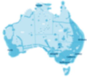 IMPULSE Wireless (Telstra) indcative coverage map