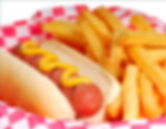 hot-dog-with-fries-stock-picture-1393529