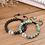 Thumbnail: COAI World Map African Turquoise Bracelet