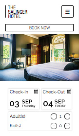 Hotels & Pensionen website templates – Modernes Hotel