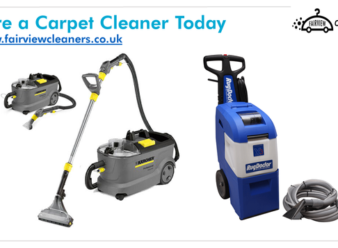 Carpet Cleaner Hire + Antibacterial Shampoo