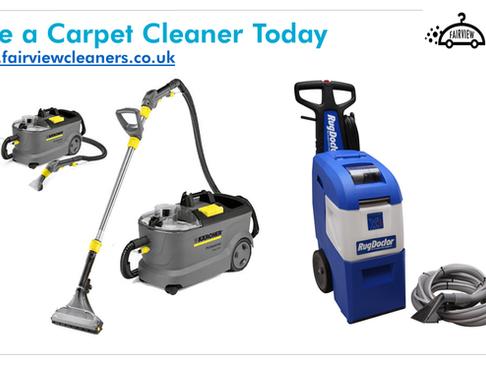 Carpet Cleaner Hire + Antibacterial Shampoo