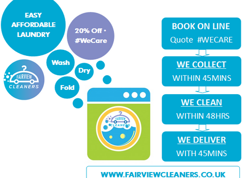 Easy Affordable Laundry 20%off #WeCare