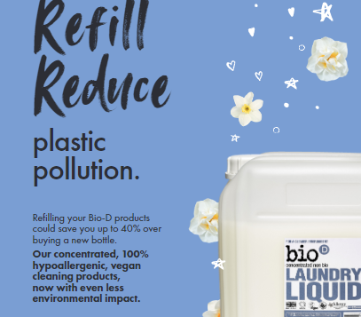 Would You / Do You Reuse - Refill - Reduce ?