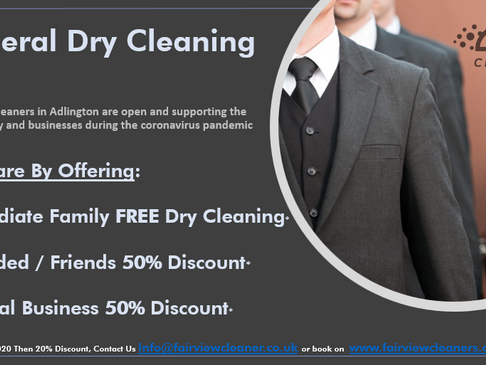 Free Funeral Dry Cleaning - We Care We Clean