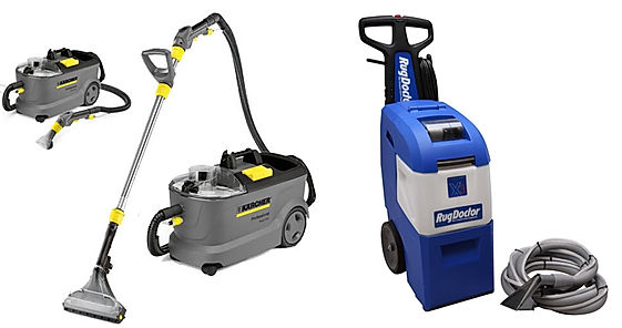 Karcher and Rug Doctor Cleaners Image .j