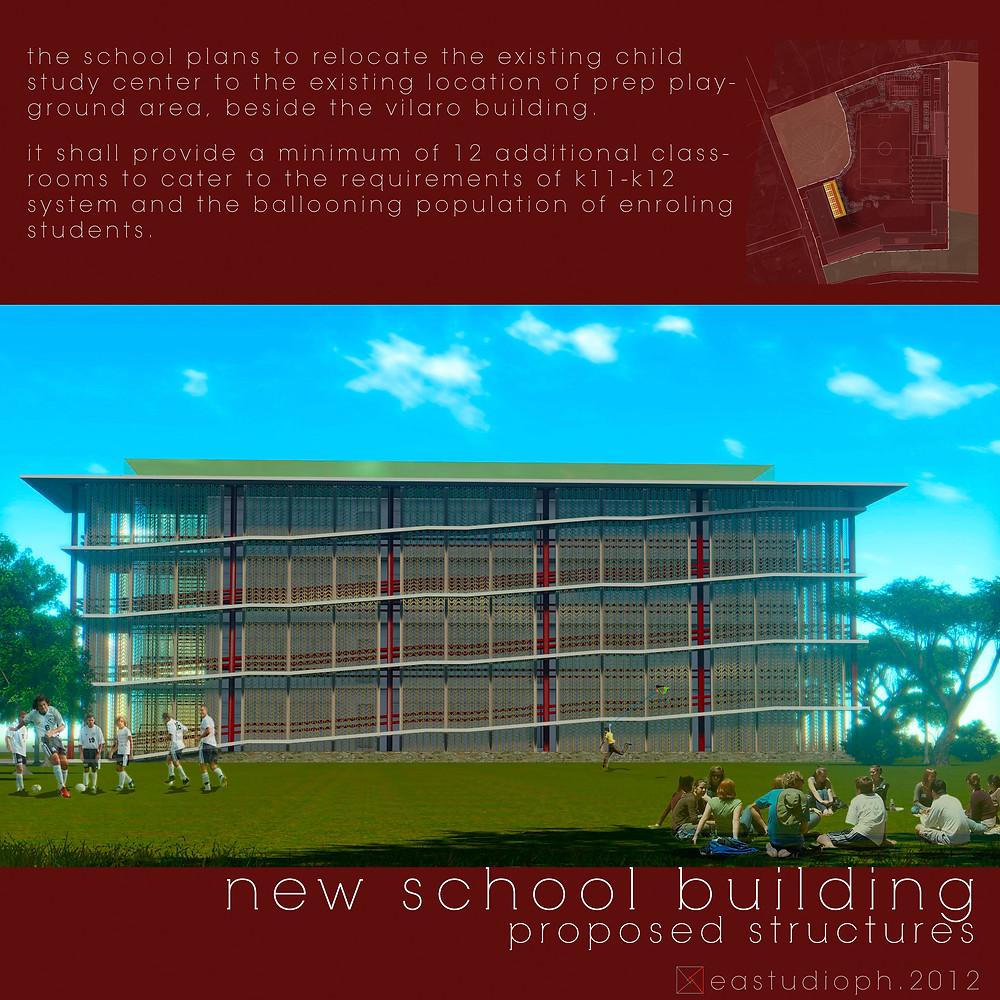 Claret New School Building