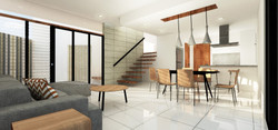 Living and Dining Room/Kitchen