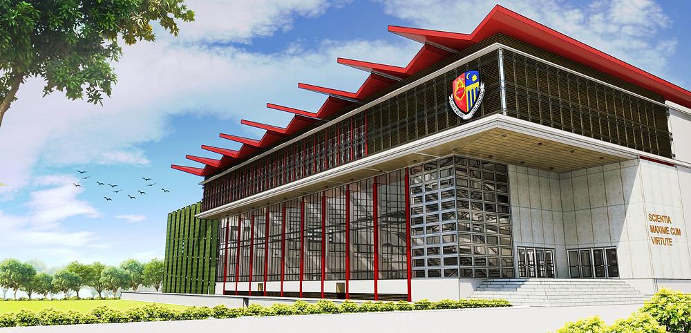 Claret Multi-Level Sports Center