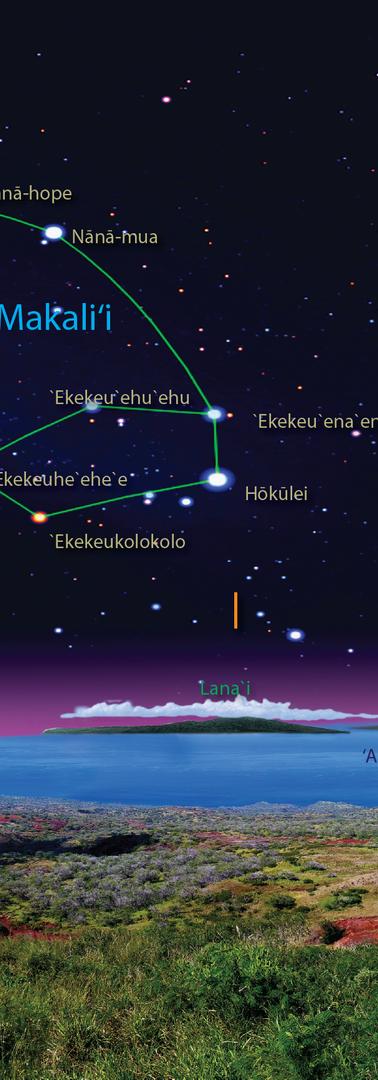 KAHOOLAWE NIGHT SKY PANORAMA