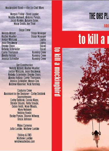 TO KILL A MOCKINGBIRD DVD COVER