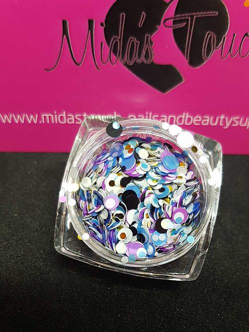Mix Circle sequins glitter #1