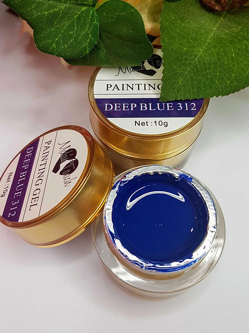 Painting Gel Deep Blue