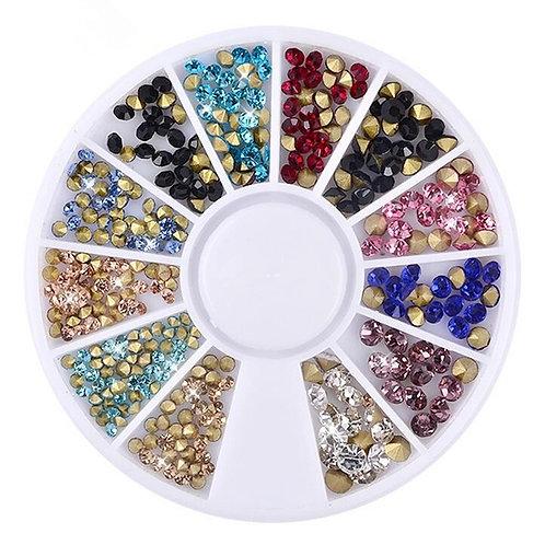 MT224 Mix Size Rhinestone crystals