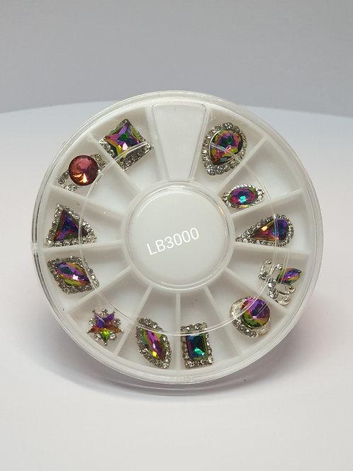 Nails crystal 12pc