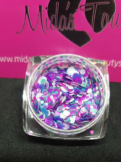 Mix Circle sequins glitter #7