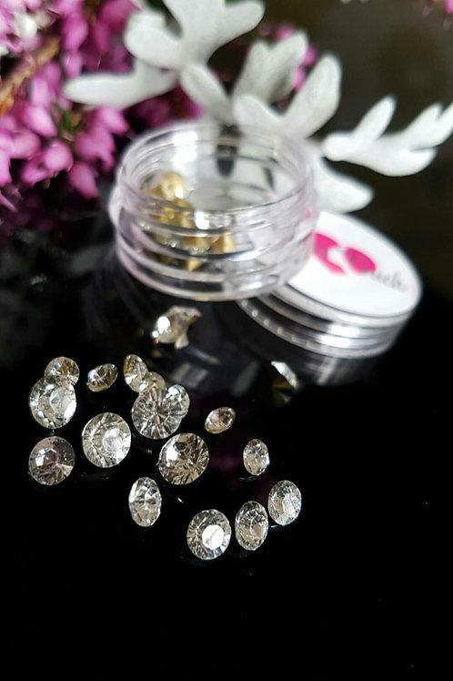 34pc 3D Crystal Rhinestone (Diamond)