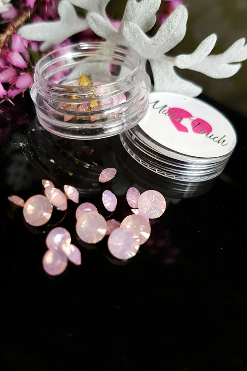 34pc 3D Crystal Rhinestone (Baby pink)