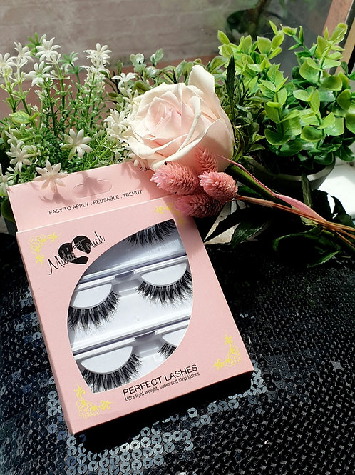 MTK120 Pack of 3 Hybrid style strip lashes