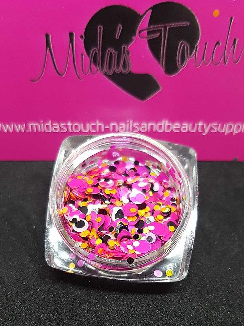 Mix Circle sequins glitter #2