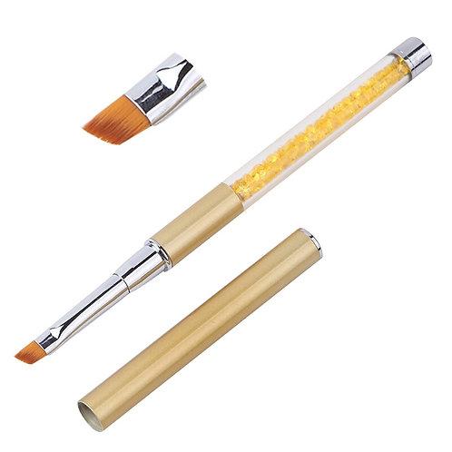 MT20737Gold Oblique Gel Brush
