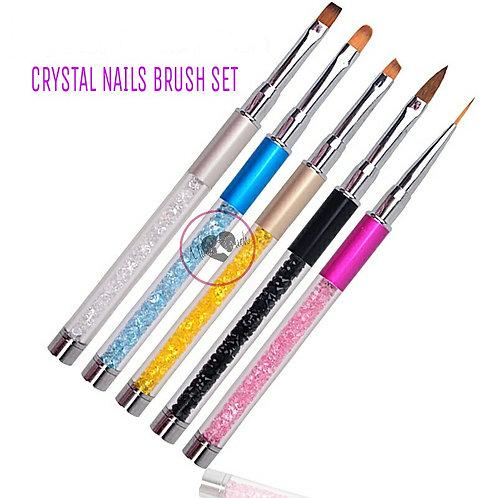 MTB06 Crystal Nails Brush Set