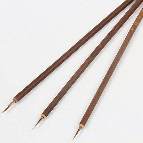 Bamboo nails art brush ( Each )