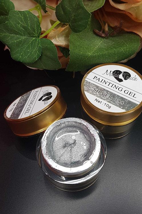 Painting Gel Silver