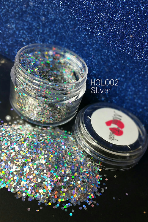 Hollo003 M Silver Net Wt.28g