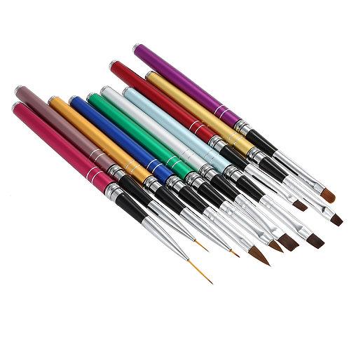10Pcs Nail Art Brush Set