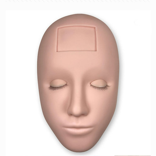 Advanced Training Mannequin head  with x2 pairs reusable eyelids