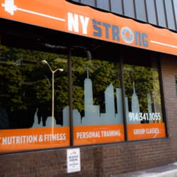 NY Strong gym store front