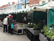 Aberystwyth Farmers Market, Dyfi Biosphere, Wales