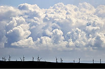 Windfarm, Dyfi Biosphere, Wales