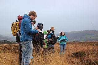 Aberystwyth MSc students, Dyfi Biosphere, Wales
